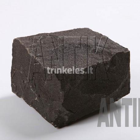 Bazalto akmens trinkelė ANTIK Berestovetske-juoda 100x100x50