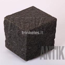 Bazalto akmens trinkelė ANTIK Berestovetske-juoda 100x100x100