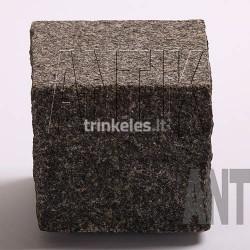 Granito akmens trinkelė ANTIK gabbro-juoda 100x100x100